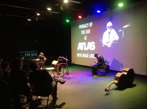 Aaron Quinn, gtr with Ran Blake at 2014 Atlas Masterclass