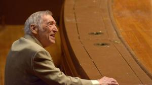 (Photo of Gunther Schuller by Andrew Hurlbut, courtesy of the New England Conservatory of Music)