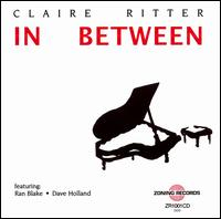In Between, Claire Ritter Cover