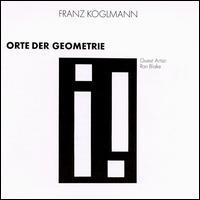 Orte Der Geometrie, Franz Koglmann Cover