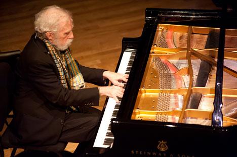 Ran Blake at Gilmore Piano Festival 2012 (Kalamazoo, MI)